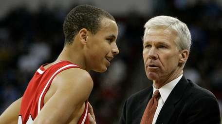 In this March 21, 2008 file photo, Davidson's