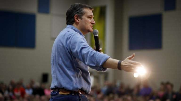 Republican presidential candidate, Sen. Ted Cruz, R-Texas, speaks