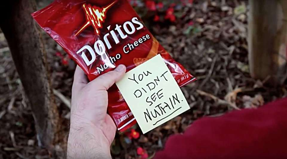 In this Doritos ad from Super Bowl XLVI