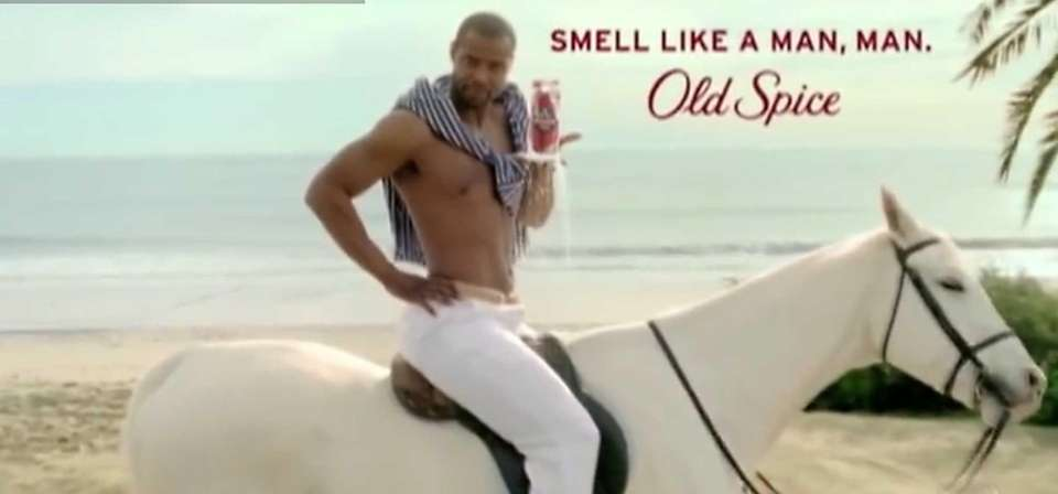 This commercial from Old Spice,