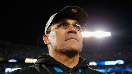 Carolina coach Ron Rivera was a linebacker on