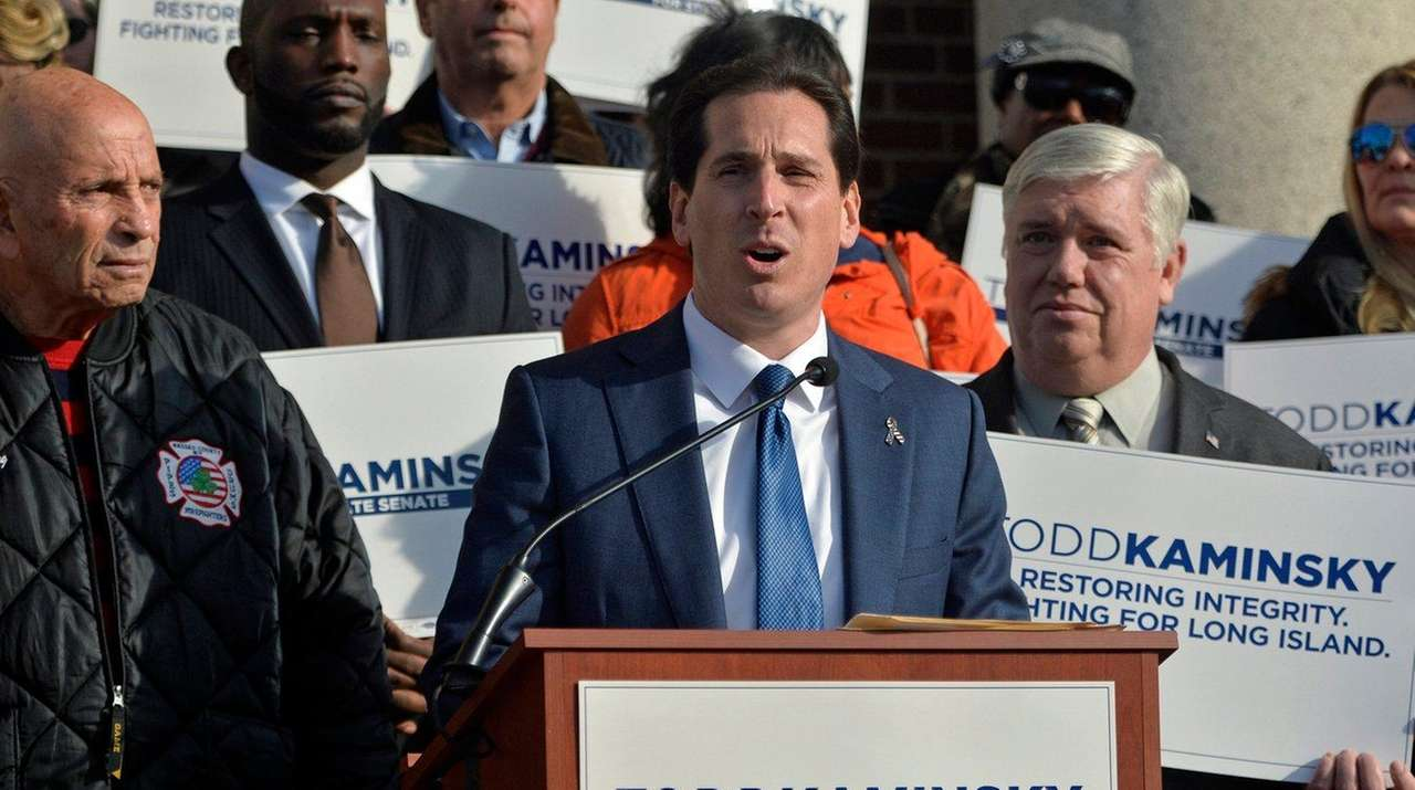 Assemb. Todd Kaminsky (D-Long Beach) announces his bid