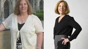 Before losing nearly 90 pounds, Elizabeth Zalackas, of