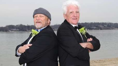 When Jack Sullivan, right, got married in 1996,