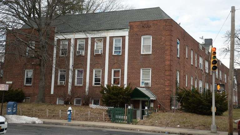 Multiple residents of a Hempstead apartment complex at