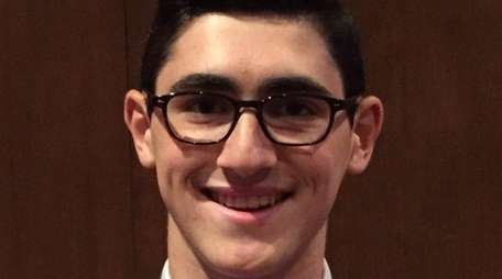 Ethan Feuer, a senior at Northport High School,