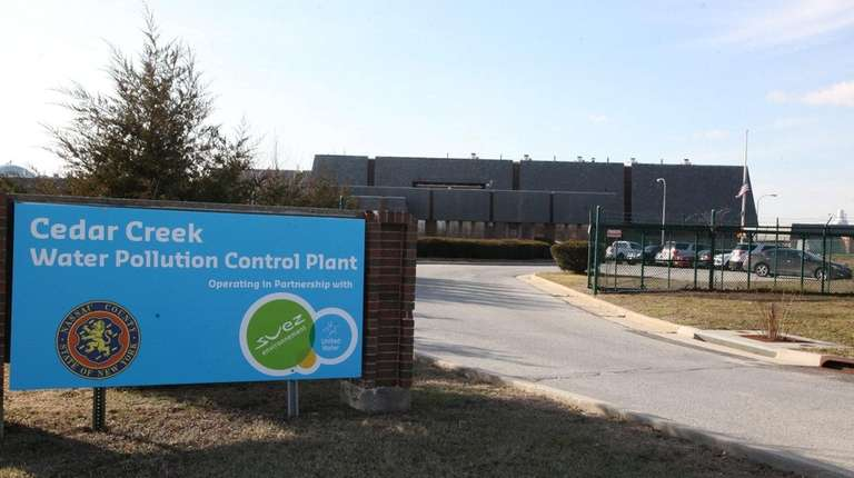 The Cedar Creek Water Pollution Control Plant which