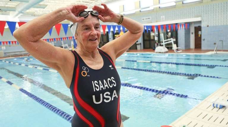 Triathlete Sheila Lurie Isaacs moves indoors for her