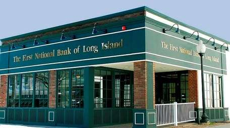 First National Bank of Long Island officials say