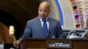 Assembly Speaker Carl Heastie (D-Bronx) on Jan. 6,
