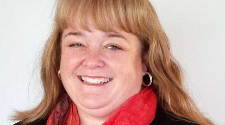 Anne Snyder is a trustee in Mastic Beach.