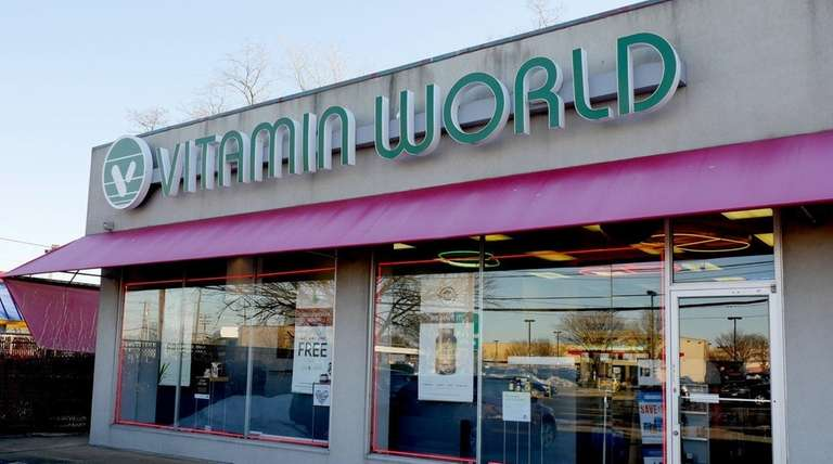 The Vitamin World store in East Meadow is