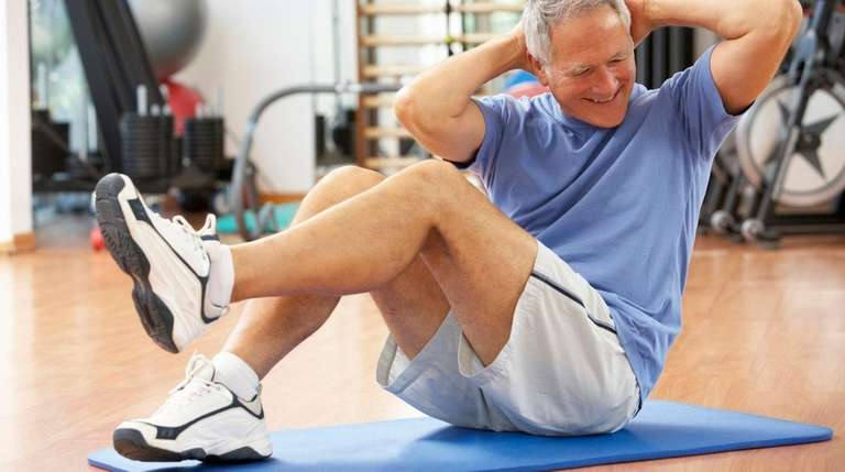 Even moderate exercise provides many health benefits for