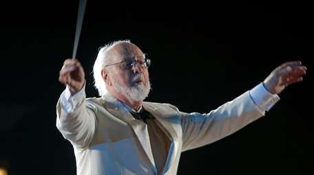Composer and conductor John Williams leads the Orlando