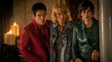 Ben Stiller, left, stars as Derek Zoolander, Owen