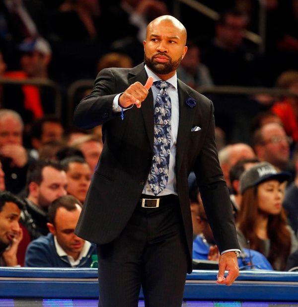 Knicks coach Derek Fisher: