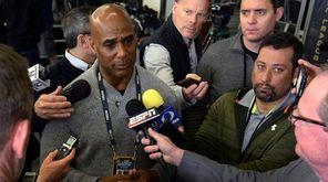 Carolina Panthers radio broadcast analyst Eugene Robinson,