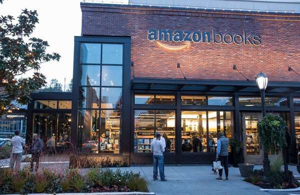 The Amazon Books brick-and-mortar store in Seattle is