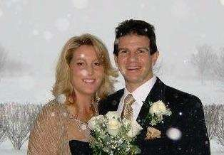 Lou and Amy Ippolito, married on Dec. 26,