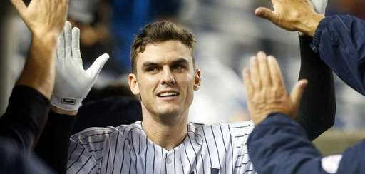 Greg Bird #31 of the New York