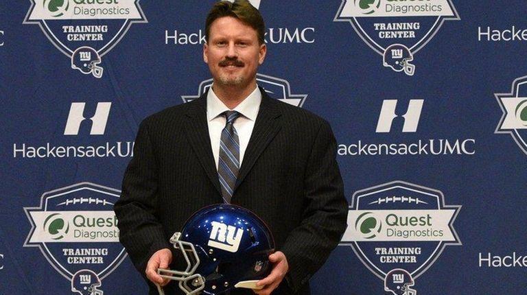 New York Giants head coach Ben McAdoo