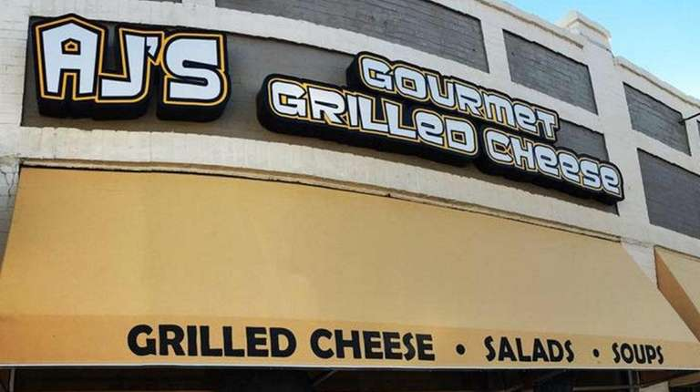 A.J.'s Gourmet Grilled Cheese Shop sells grilled cheese
