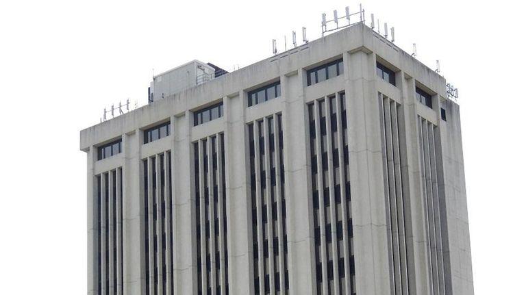 The H. Lee Dennison Building in Hauppauge is