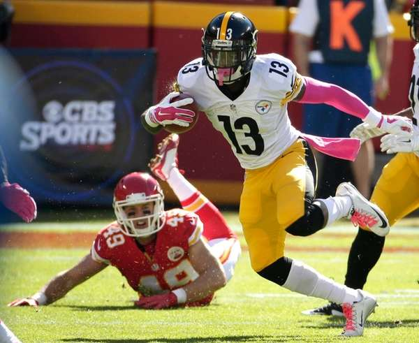 Pittsburgh Steelers running back Dri Archer (13)
