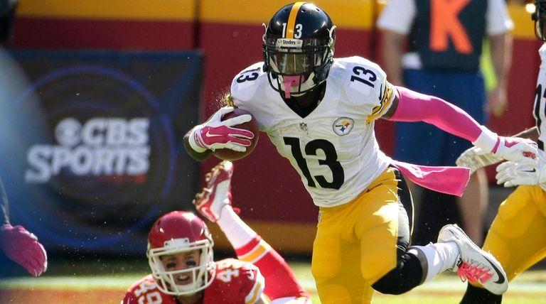 Pittsburgh Steelers running back Dri Archer (13)