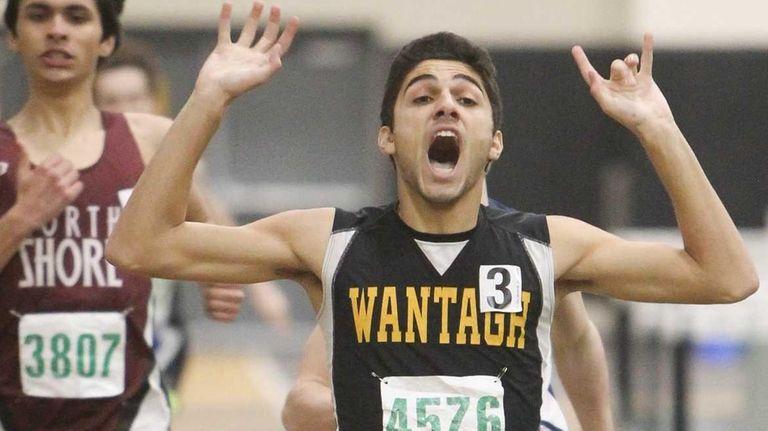 Chris Mountanos of Wantagh wins the 600-meter run