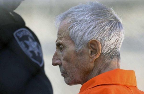 Robert Durst is escorted into Orleans Parish Prison