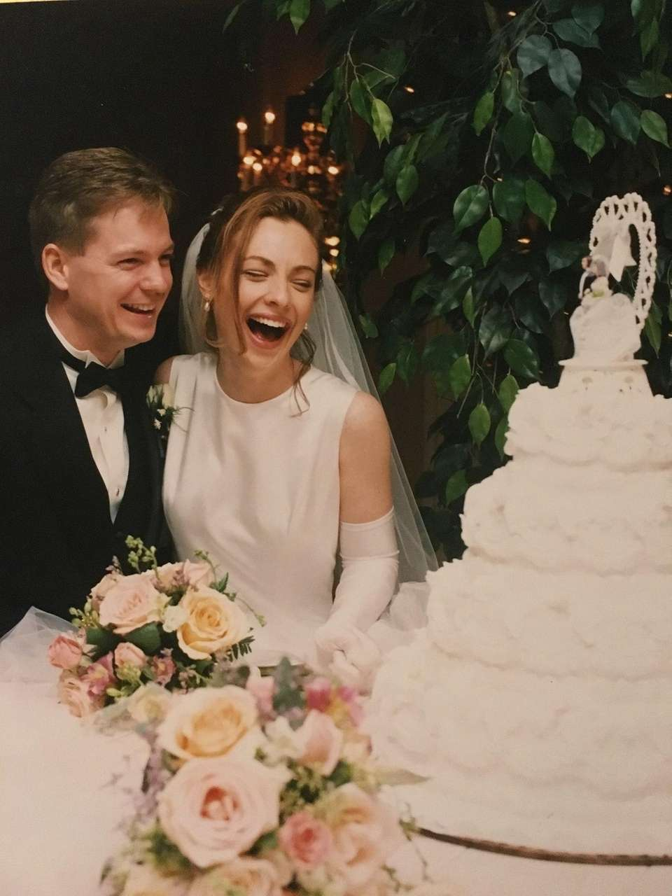 Leanne and Don Boller, on Nov. 1, 1997.