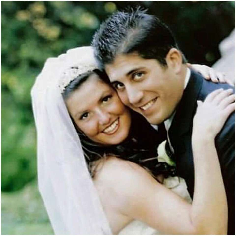Michelle and Michael Foti were married at OLPH