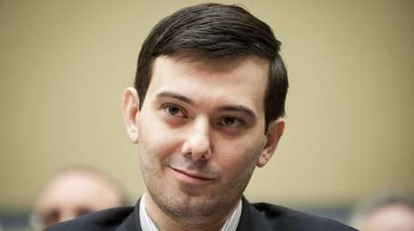 Martin Shkreli, former chief executive officer of Turing