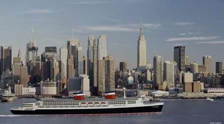 Artist rendering of the redeveloped ocean liner SS