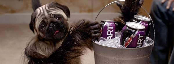 Mountain Dew's new Puppymonkeybaby ad for the Super
