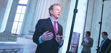 Sen. Rand Paul, R-Ky., speaks to WBKO in