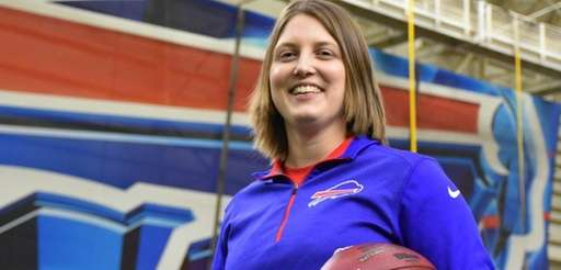 The Buffalo Bills hired Kathryn Smith as a
