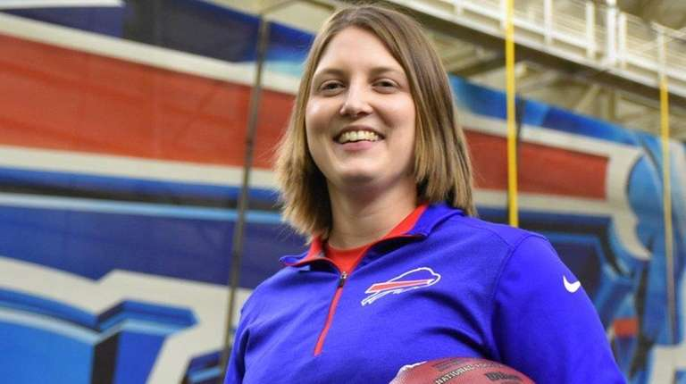 The Buffalo Bills hired Kathryn Smith as a