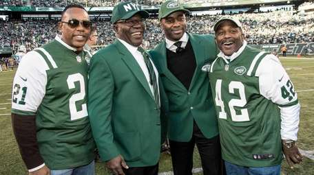 NY Jets greats Victor Green, Emerson Boozer, Curtis