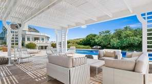This Southampton beachfront mansion has nine bedrooms and