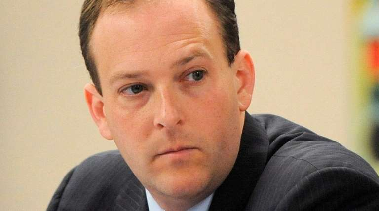 Rep. Lee Zeldin and two House colleagues delivered