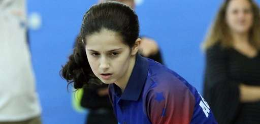 14-year old Olympic table tennis hopeful Estee