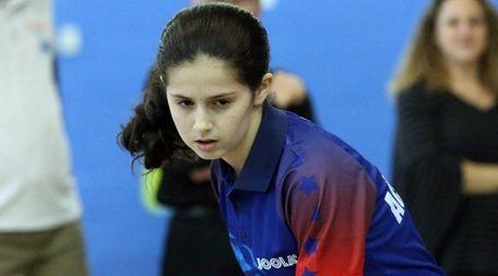 14-year old Olympic table tennis hopeful Estee