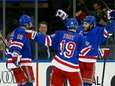 J.T. Miller of the New York Rangers celebrates