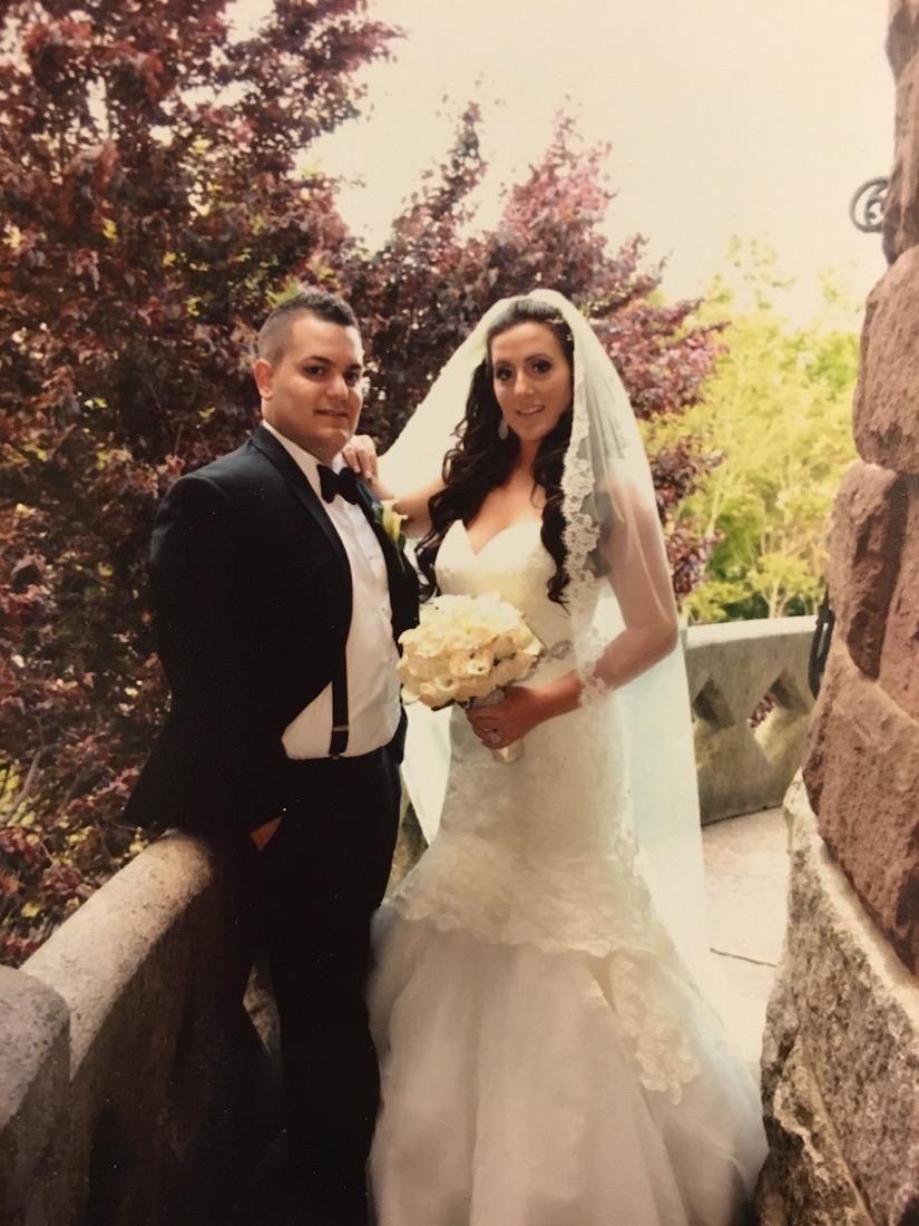 Marissa and Nicky Marino married on May 25,