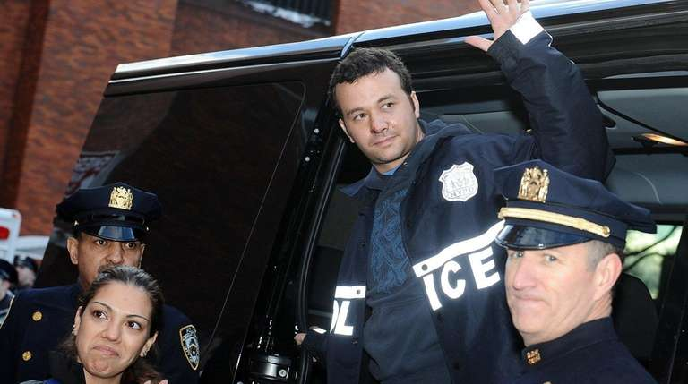 NYPD Officer Patrick Espeut, who was shot on