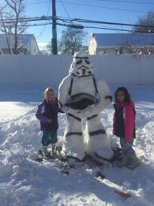 Avid Star Wars fans, Sienna Renny, 7 and