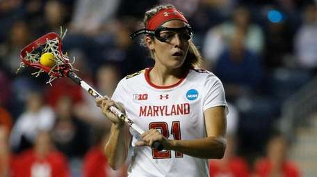 Maryland midfielder Taylor Cummings during the second