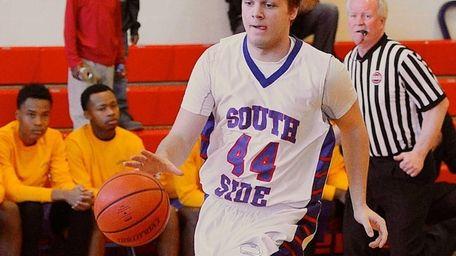 South Side's Alex Sorensen drives to the basket
